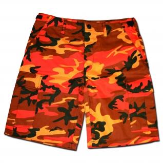 MMB Шорты MMB в стиле BDU, цвет оранжевый камуфляж