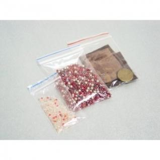 Пакет с замком (Zip Lock) 6 х 8 см, 40 мкм, 1000 шт/уп