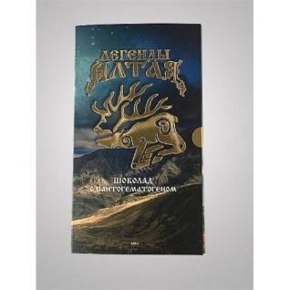 Шоколад с пантогематогеном «Легенды Алтая» Алтамар
