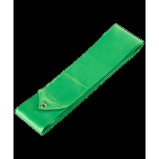 Лента для художественной гимнастики Amely Agr-201 4м, с палочкой 46 см, зеленый