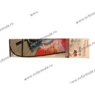 Шторка автомобильная 146х68см AUTOSTANDART 101612 на ветровое стекло с рисунком гоночная трасса
