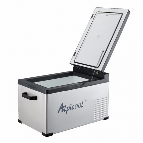 Kомпрессорный автохолодильник ALPICOOL C30 черный (30л, 12/24/220В) 36995009
