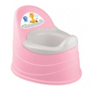 Горшок Детский Со Вставкой, Цвет Розовый, 390*310*305мм