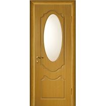 Дверное полотно МариаМ Ария ПУ лак остекленное 600-900 мм б/дуб, дуб, орех