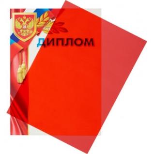 Обложки для переплета пластиковые Promega office красА4, 200мкм,100шт/уп.