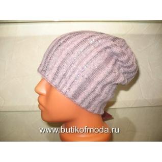 Vizio Италия вязанная шапка 4966 розовая