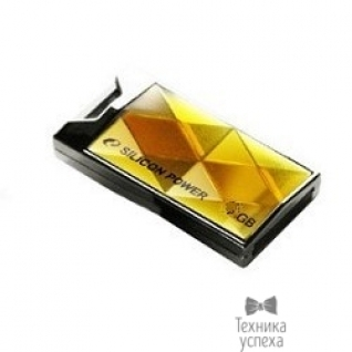 Silicon Power Silicon Power USB Drive 8Gb Touch 850 SP008GBUF2850V1A USB2.0, Amber