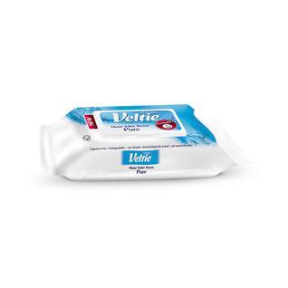 Бумага туалетная влажная VELTIE 42 листа 17x13,5 см