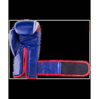 Перчатки боксерские Green Hill Knockout Bgk-2266, 8oz, к/з, синий