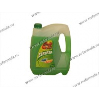 Антифриз SIBIRIA-40 G11 5кг зеленый