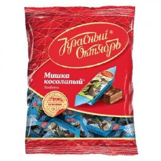Конфеты Шоколадные Мишка косолапый, 200г
