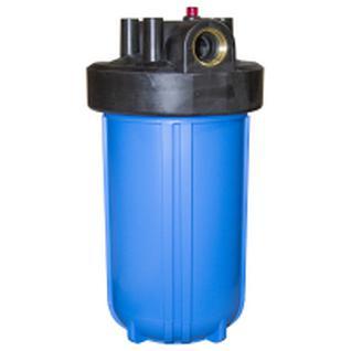 Корпус пласт. для фильтра с латунными вставками на хол. воду Новая Вода 10'' ВВ PRIO (А418 л)