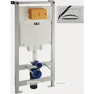 Система инсталляции для унитазов OLI Oli 80 с кнопкой смыва River