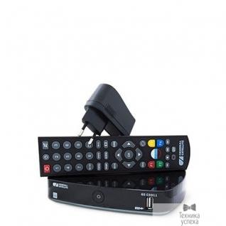 """Tricolor Комплект спутникового телевидения Триколор GS B532M + GS C592 """"Европа"""" (комплект на 2 ТВ) черный"""
