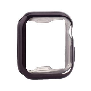 Чехол силиконовый TPU&защита экрана 360° COTEetCI для Apple Watch Series 5/ 4 (CS7059-BK) 40мм Черный