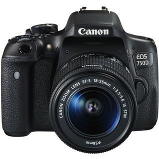 Зеркальный фотоаппарат Canon EOS 750D Kit 18-55