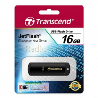 Память USB 2.0 16 GB Transcend JetFlash 350, черный (TS16GJF350)