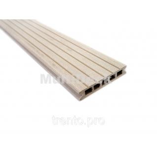 Террасная доска MultiDeck Pro Белая ночь 3000*150*27 мм Multiplast
