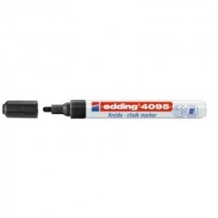 Маркер меловой Edding E-4095 chalk marker чёрный_001