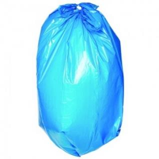 Мешки для мусора ПВД 120л 70x110см 24мкм син 15шт/рул Paclan Multi-Top