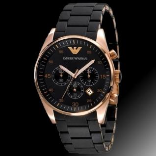 Часы Emporio Armani кварцевые, черные
