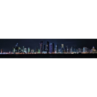 Фартук для кухни АБС Ночной город №1 600х3000х1,5мм