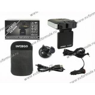 Антирадар (радар-детектор) + видеорегистратор INTEGO с GPS VX-650R