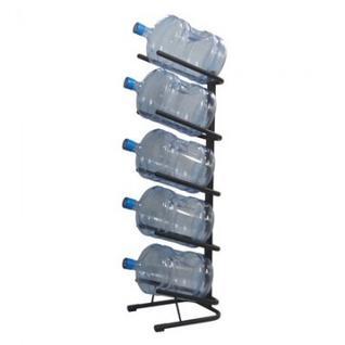 Метал.Мебель KD_Бридж-5 стеллаж для воды бутилир. на 5 тар, цв.черный