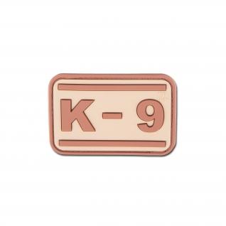 Jackets To Go Нашивка 3D K-9, цвет пустынный