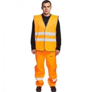 Спец.костюм Жилет сигнальный Тип2Т, цв.оранж.(р.ХХХL/60-62)