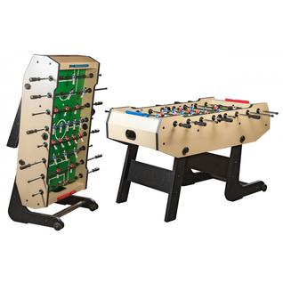 Dynamic Billard Игровой стол футбол складной Dynamic Billard Maccabi (140x75x89, светлый)
