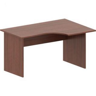 Мебель IN Рондо Стол эргоном. правый СТ3-14R (1) 66 орех1400