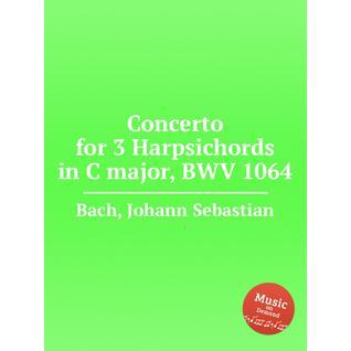 Концерт для 3-х клавесинов до мажор, BWV 1064