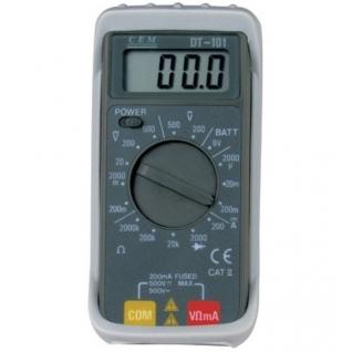Карманный цифровой мультиметр СЕМ DT-101
