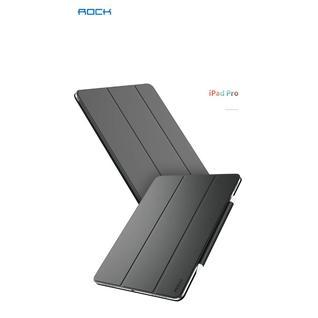 Чехол-книжка Rock Veena Series (pencil) для iPad 2018 12.9 темно-серый RPC1476