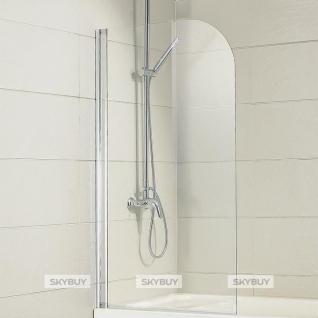 Шторка на ванну Bravat Alfa 70x150