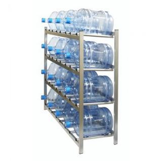Метал.Мебель KD_Бомис-16 стеллаж для воды бутилир. на 16 тар