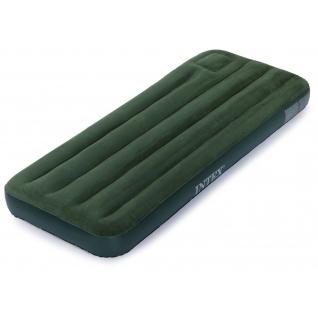 Надувной матрас-кровать Downy со встроеннымым ножным насосом, 76 x 191 см Intex