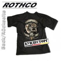 Rothco Футболка USMC, цвет черный