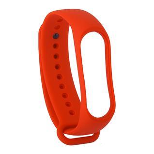 Сменный ремешок Xiaomi Mi Band 4/ 3 (гипоаллергенный силикон) Red Красный