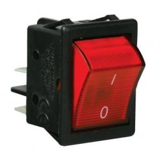 Выключатель с подсветкой красный A14K Емас