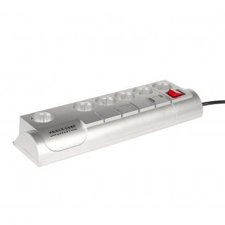 Сетевой фильтр Power Cube Garant 3.0 м, 5+1, серый, телеф.защита, 10А/2,2кВт