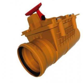 Обратный клапан ПВХ Политэк наруж. 160мм