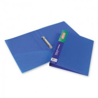 Папка на 2-х кольцах пласт. 17/32мм А4 ATTACHE F502/07 синяя Ро