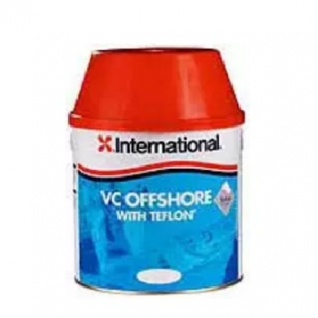 Краска твердая тефлоновая International VC Offshore with Teflon, 750 мл, красный (10010791)