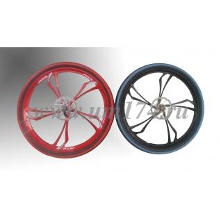 Литые лучевые диски на велосипед 26 дюймов