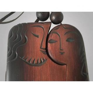 "Талисман из дерева ""Мужчина и женщина"""