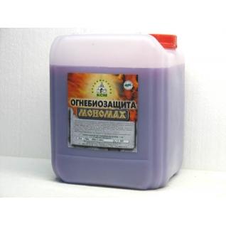 Огнебиозащита (красная и бесцветная) Мономах Standart 5л