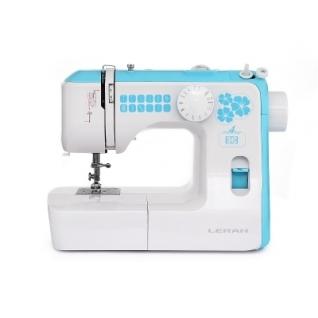 LERAN DSM-144, Швейная машина (выполнение петли: полуавтомат, потайная строчка, количество швейных операций:12, регулировка длины стежка, челнок вертикальный, кнопка реверса)