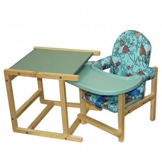 Стул-стол для кормления СТД 07 бирюза
